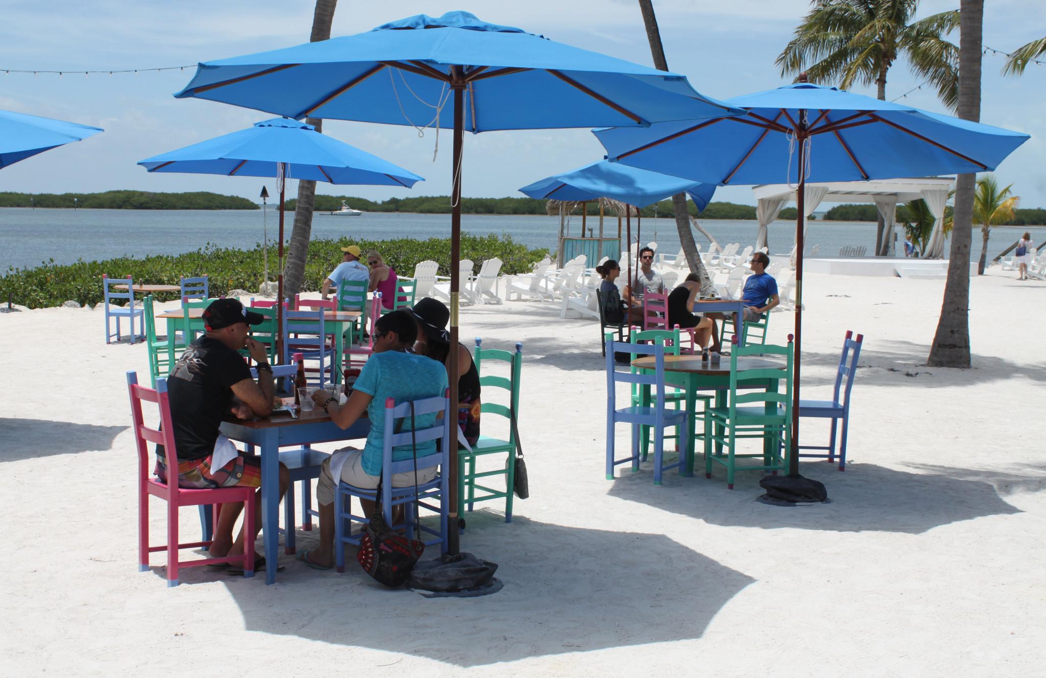 4 Islamorada Beach Cafe