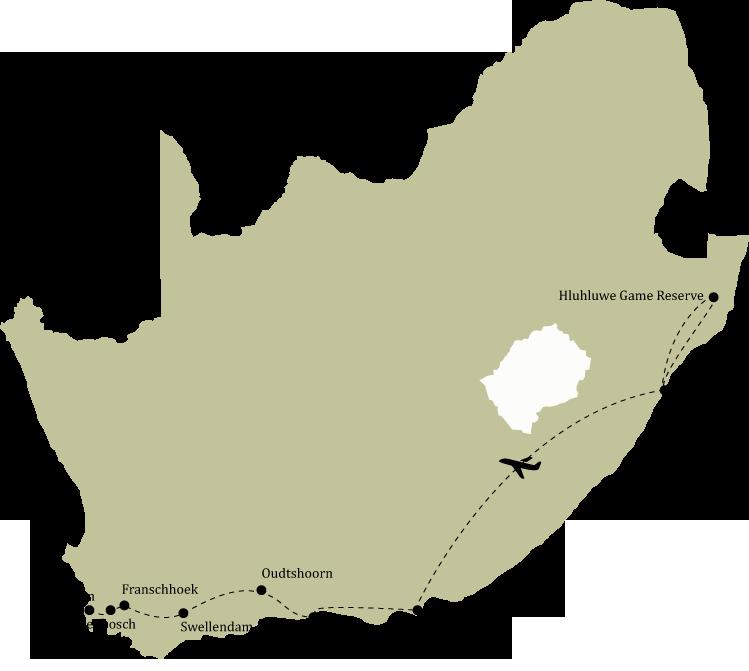 Kør-selv ferie Sydafrika - Skræddersyede ferier med DANexplore