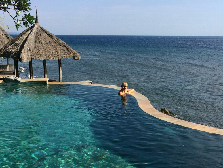 Pool på Bali