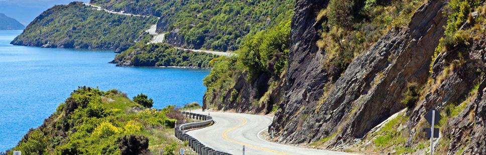Kør-selv ferie New Zealand